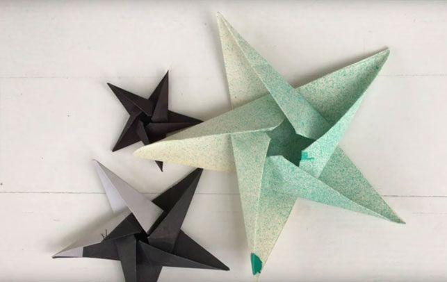 Video: Sådan folder du origami stjerner - Boligliv