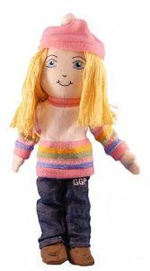 Global Green Pals educational organic doll: Clean Air Kate. $29.95