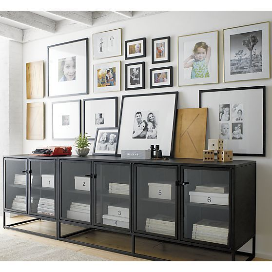 Matte Black Frame Collection   Crate and Barrel