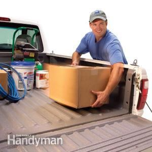 Want a new bed liner for your pickup truck? Try a DIY roll-on bed liner.