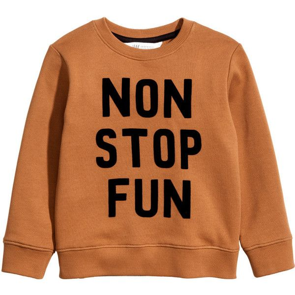 Sweatshirt $14.99 (€13) ❤ liked on Polyvore featuring tops, hoodies, sweatshirts, ribbed long sleeve top, orange sweatshirt, long sleeve sweatshirts, long sleeve tops and orange top