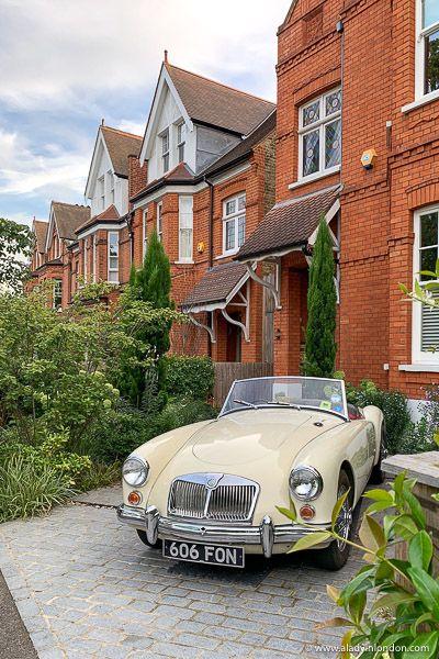 Vintage Car in London