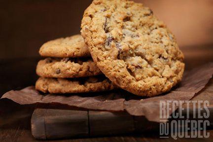 Galettes au gruau santé #recettesduqc #collation #biscuit