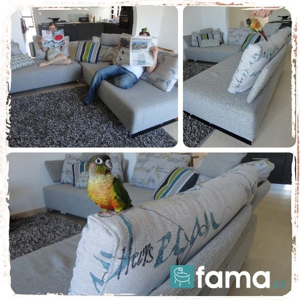 Comfy Day - 7 Photo Contest Fama, sofas to enjoy at home