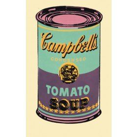 An analysis of pop art in andy warhols cambells soup can painting