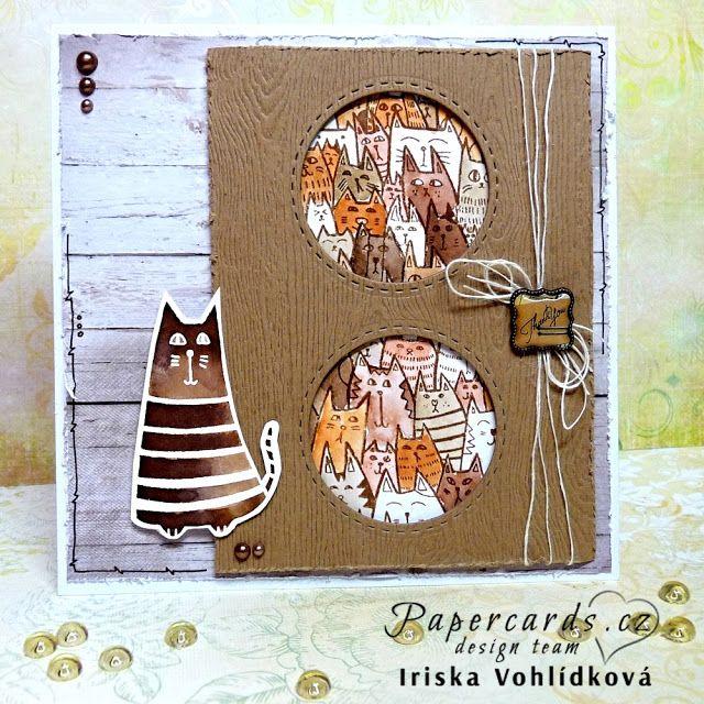 Z MÉHO TVOŘIVÉHO ŽIVOTA: Papercards.cz challenge 14.