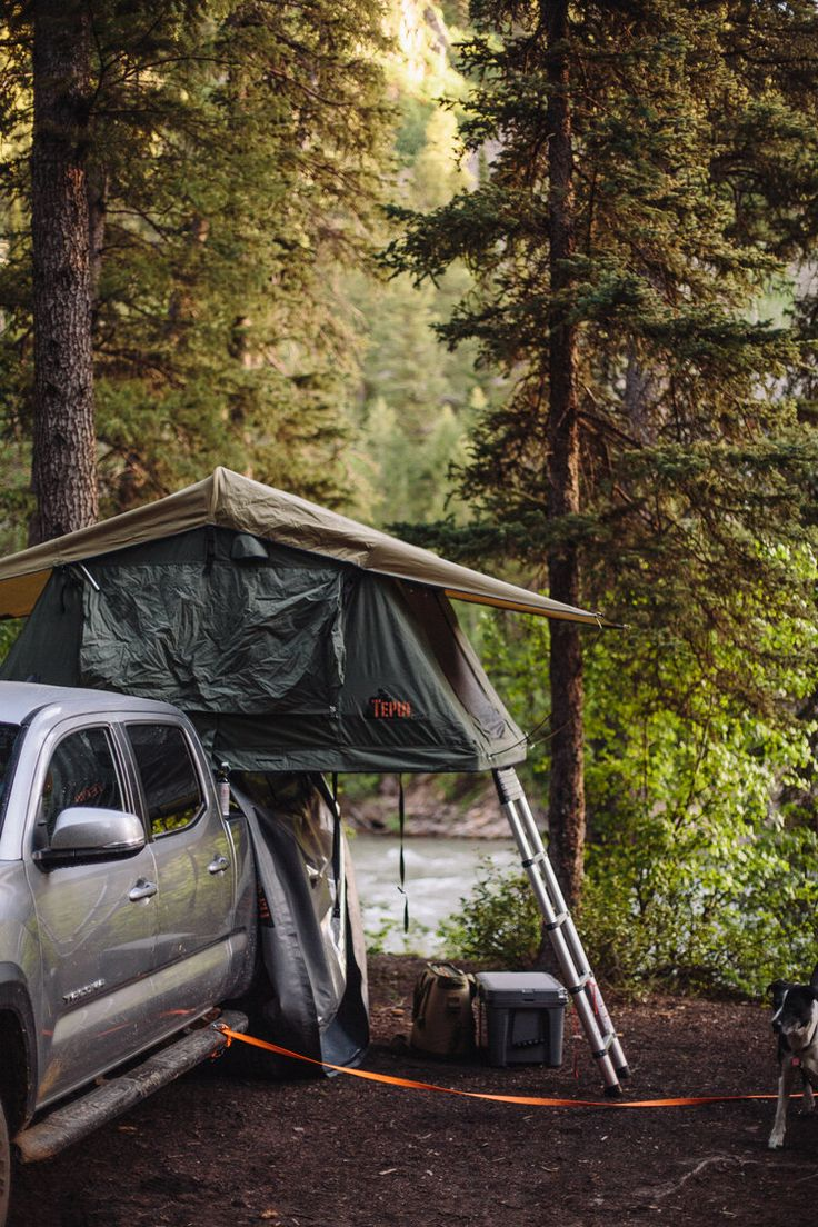 Tepui Roof Top Tent on my Toyota en 2020