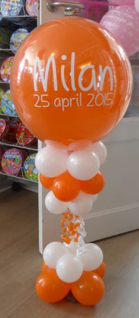 25 beste idee n over babyborrel ballonnen op pinterest for Ballonnen versiering zelf maken
