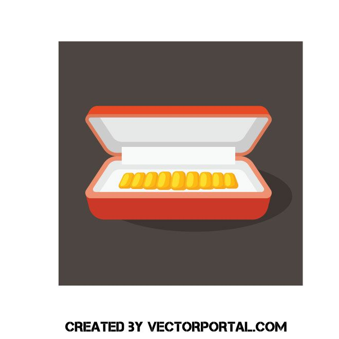 Bracelet In Jewelry Box Clip Art With Images Jewelry Box