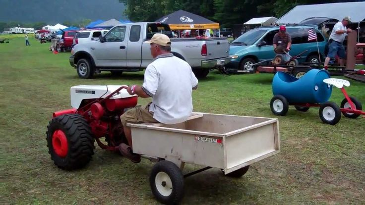 1965 Gravely 4 Wheel Tractor : Best gravely tractors images on pinterest