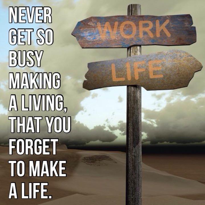 Adjust your work life balance 213 best Whos