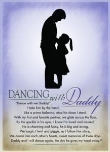 dancing with daddy poem