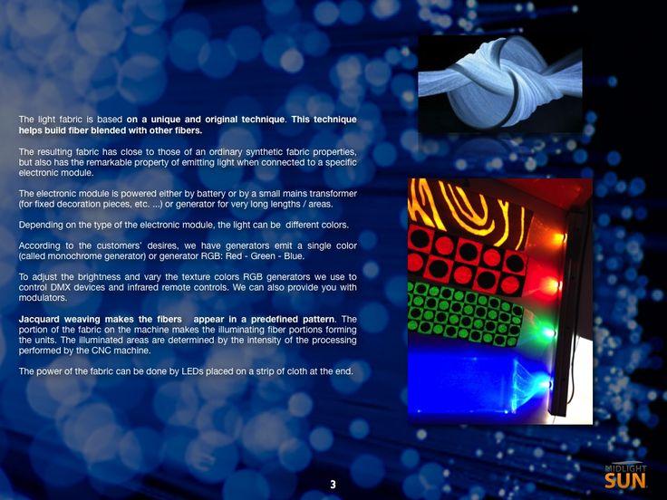 illuminated fabric: glowing fabrics