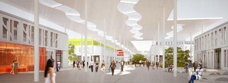 Université Toulouse Mirail : Valode & Pistre lauréat | Valode et Pistre architectes
