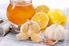 Смесь от 100 болезней: лимон, чеснок, мед и пшеница