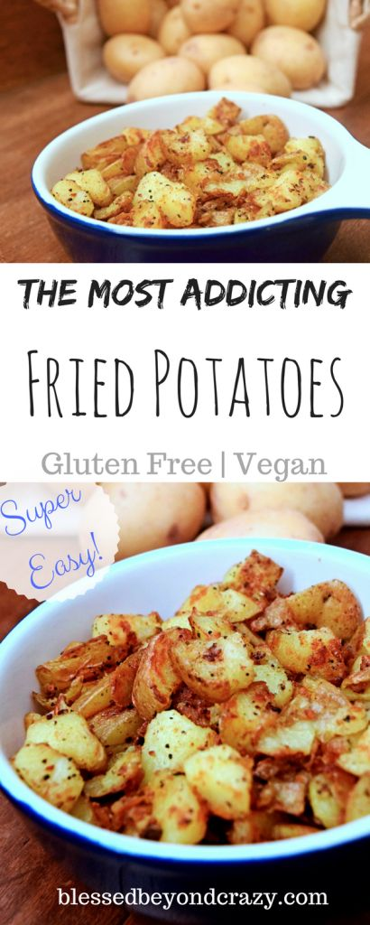 Yes, they are addicting! #blessedbeyondcrazy #potatoes #breakfast