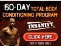 Insanity Shaun T - As Seen On TV, Insanity 60 Day Workout  Each Shaun T Insanity Workout keeps you constantly challenged as you alternate between aerobic and anaerobic intervals performed at your MAX.