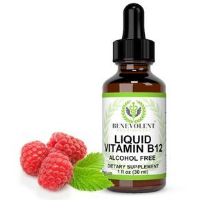 Liquid Vitamin B12 High Potency Sublingual Drops, 5000 mcg ( as Methylcobalamin). Natural Dietary Supplement to Best Boost Your Energy and Help With B 12 Vitamins Deficiency.
