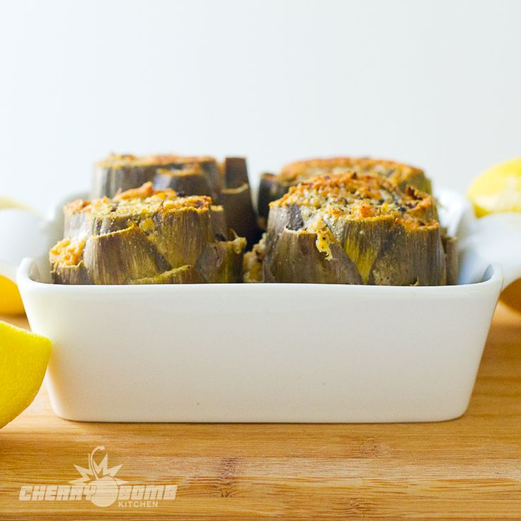 Baked Artichokes Recipes — Dishmaps