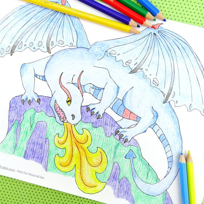 179 best Dragons images on Pinterest Coloring books, Coloring - best of coloring pages of ice dragons