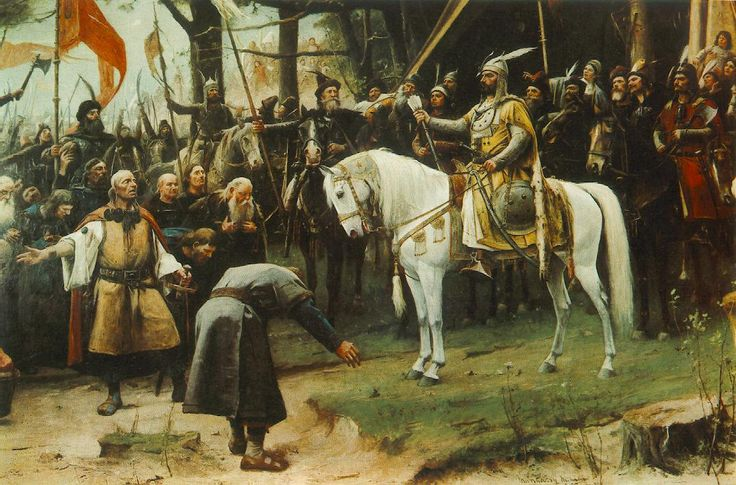 Conquest (detail) 1893 painting
