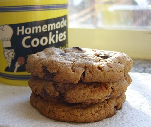 Easy Peasy Peanut Butter Chocolate Chip Cookies for Dairy-Free, Egg ...