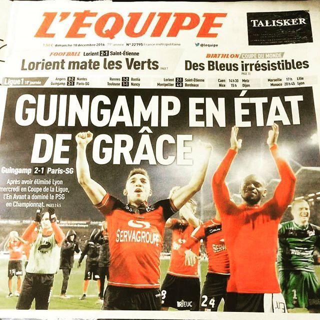 EA Guingamp - Club de Ligue 2 - Football