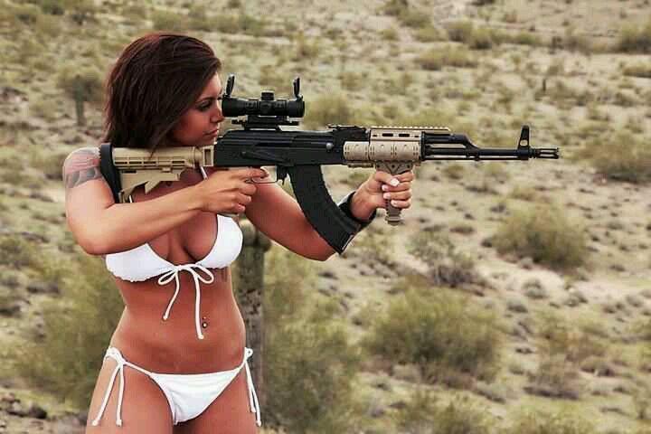 Pistol tats on nude women nude-4441