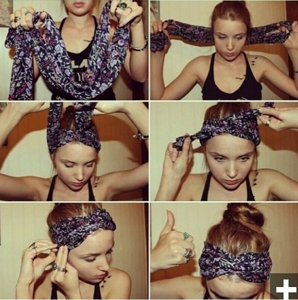 In a run to a friends house or a movie , want to look like you spend a little time on your hair. This is a easy way to do your hair in a bun with a little spine to it :) !!