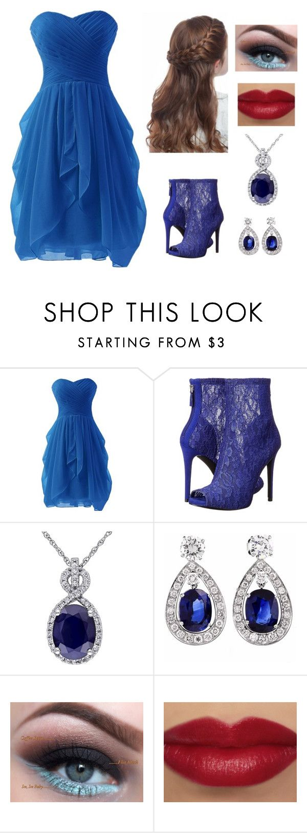 """""""Prom"""" by gracenickel on Polyvore featuring GUESS"""