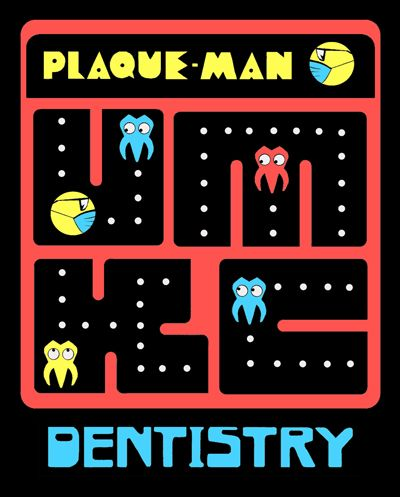 "Who wants to play? ""Plaque Man"""