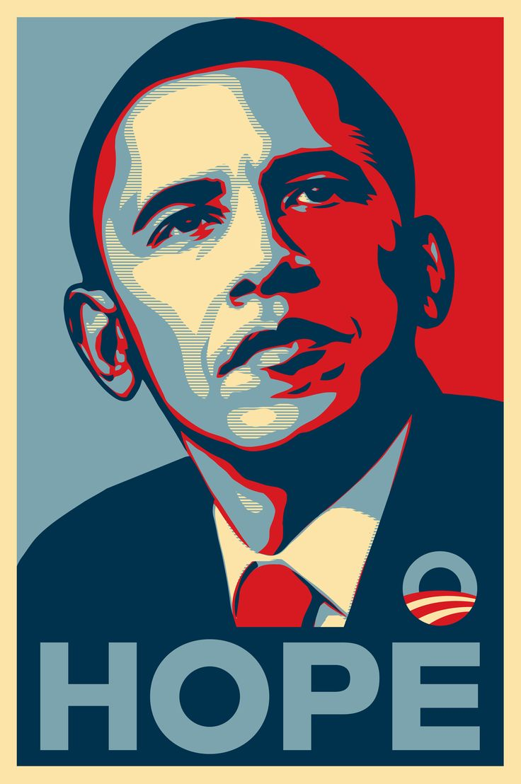Shepard Fairey / Hope