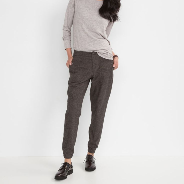 Canopy Tweed Jogger | Roots Womens Joggers