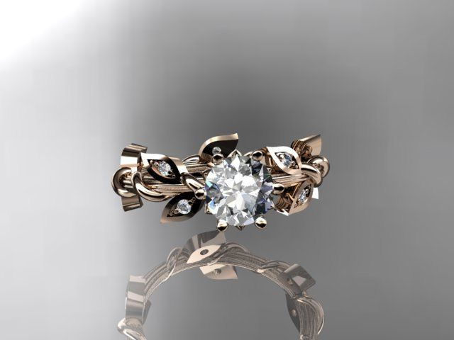 25 best ideas about vine wedding ring on pinterest rose diamond rings beautiful rings and wedding ring - Nature Inspired Wedding Rings
