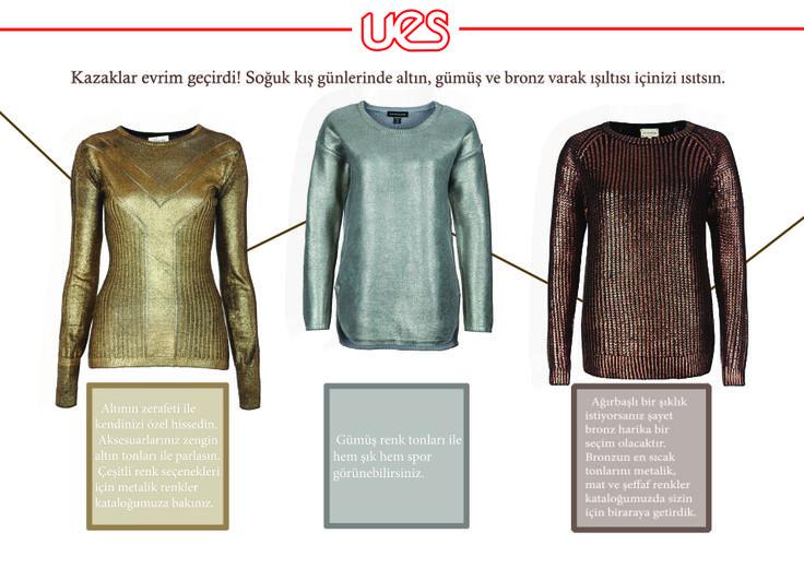 foil knitwear