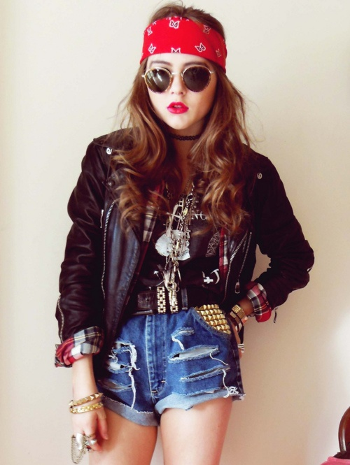Who doesn't love a bit of grunge! <3