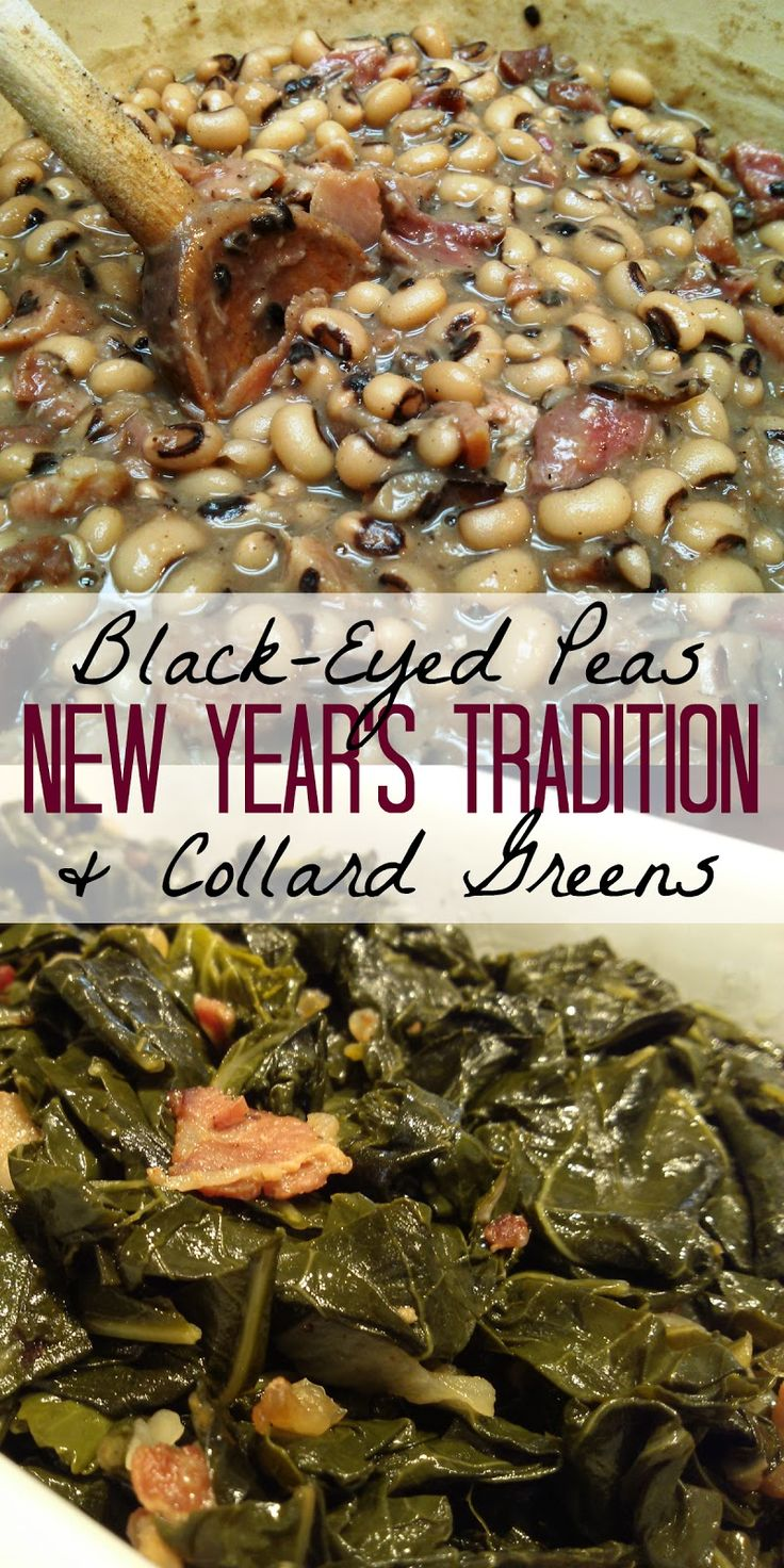 BlackEyed Peas and Collard Greens a New Year's Tradition