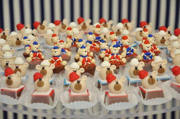 Aniversário: tema marinheiro: 1St Birthday, Party Theme, Children'S Parties