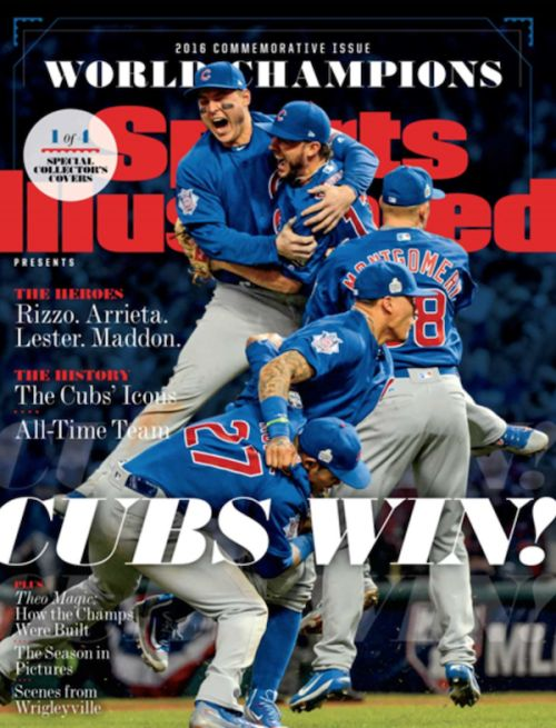 sports illustrated covers | Sports Illustrated creates four covers for Chicago Cubs' World ...