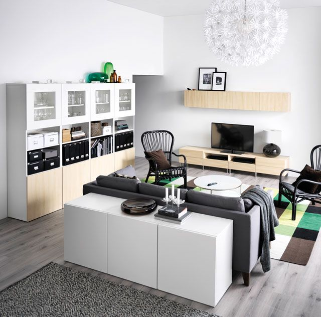 54 best images about ikea besta on pinterest cabinets - Mobile retrodivano ikea ...