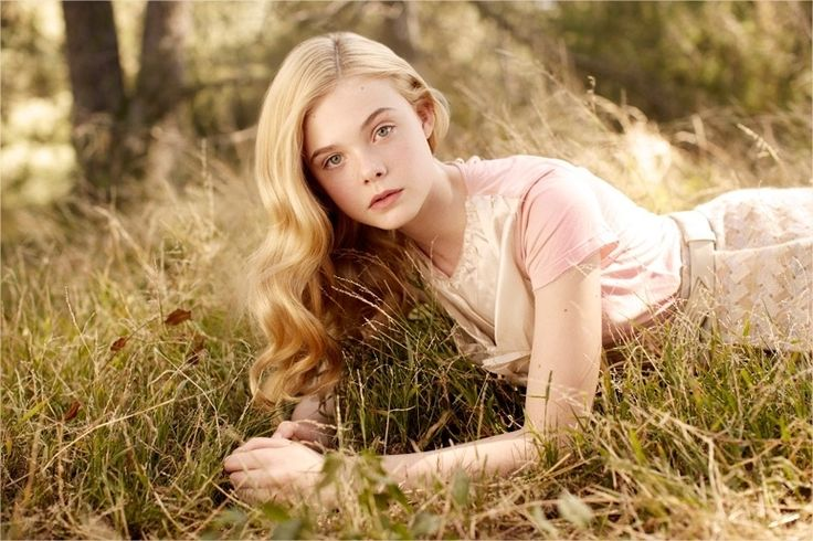 I love Elle Fanning. As you can see, she's going to become a character in some future bit of writing... Not sure what or when...