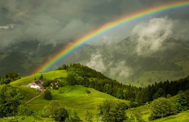 At the End of the Rainbow by Jan Geerk on 500px