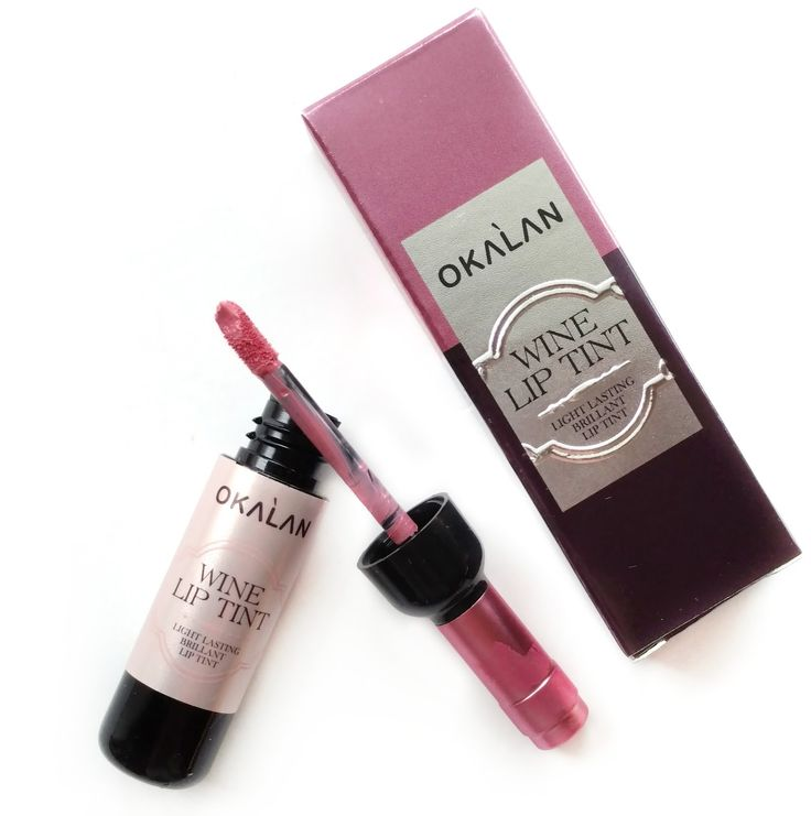 Okalan Wine Lip Tint. Photo by Beauddiction. Shop it here: https://shophush.com/collections/lips/products/wine-lip-tint?variant=29235827593 #shophush #hushfam