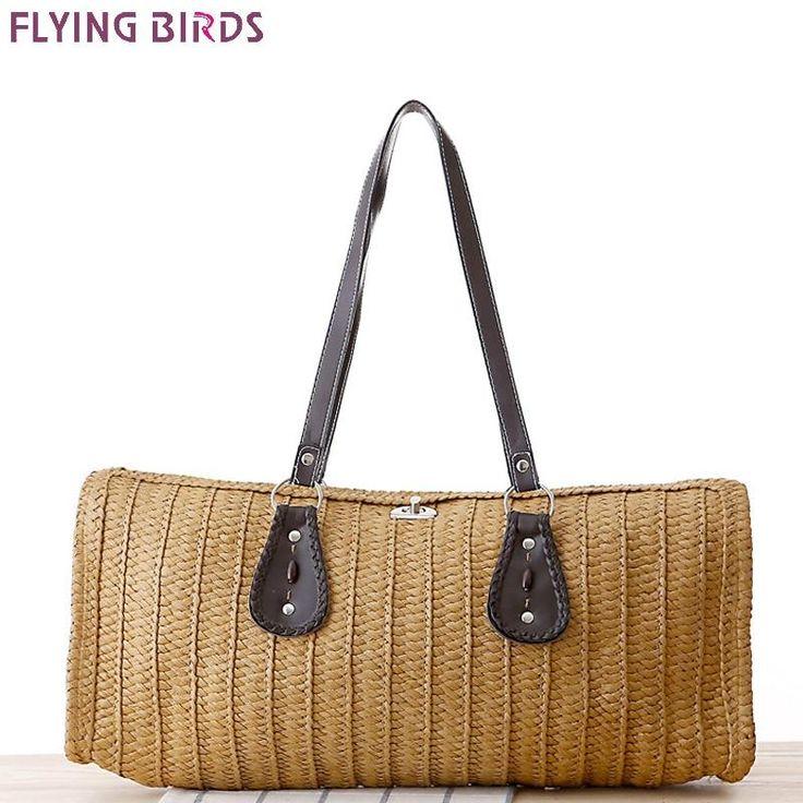 b735811eef8 Straw Summer Bag / Beach Bag / Handbag #womenbagsbrands   Clutches ...