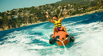 Water activities in Lloret de Mar, #inCostaBrava