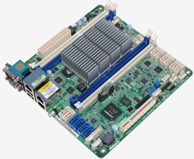ASRock produced the C2750D4I