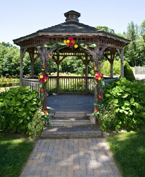 Der Garten Pavillon Hat Sich Als Einen Nutzlichen Zusatz Etabliert Heutzutage Werden Zahlreiche Designs Angeboten Wir Versuchen Ihnen Uberblick
