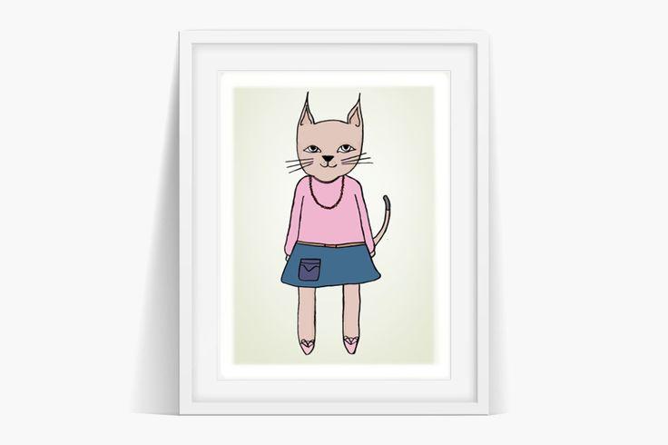 Cassie Cat Art