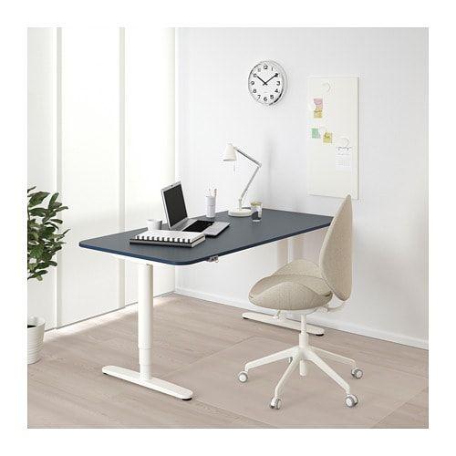 bekant desk sit stand white home office ikea corner desk ikea rh pinterest com