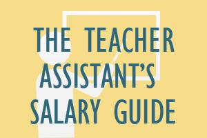 The Teacher Assistant's Salary Guide   Teacher assistants work under a teacher's supervision to give students additonal attention and instruction.  http://www.mometrix.com/blog/the-teacher-assistants-salary-guide/